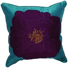 Country Embroidery Polyester Decorative Pillow Cover  #cushions #pillows #decor #pattern #country #homedecor #livingroom