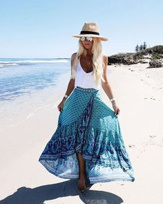 Skirts - Honeymoon Clothes for Bride: You Can't Miss This - EverAfterGuide #vacationoutfits