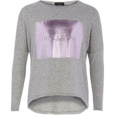 Girls grey instaglam t-shirt - t-shirts - t-shirts / vests - girls
