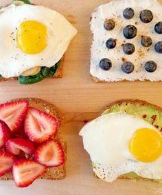 4 energy boosting breakfasts!