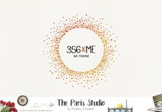 Watercolor Circle Logo Design
