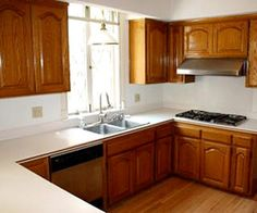 Small passthrough kitchens on pinterest galley kitchens for Kitchen remodel ideas on a dime