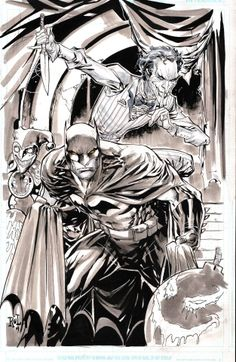 Batman vs. The Joker by Ken Lashley *