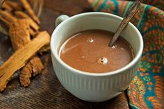 Delightful Hot Chocolate Recipes is a group of recipes collected by the editors of NYT Cooking Spicy Hot Chocolate Recipe, Chocolate Chili, Mexican Hot Chocolate, Gluten Free Chocolate, Chocolate Flavors, Coconut Milk, Think Food, Just In Case, Gourmet