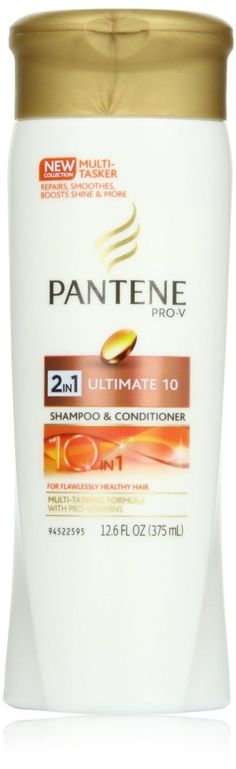Pantene Pro-V Ultimate 10 2-in-1 Shampoo and Conditioner