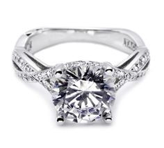 I heart this ring from TACORI! Style no: 2565RD9 THIS! HE