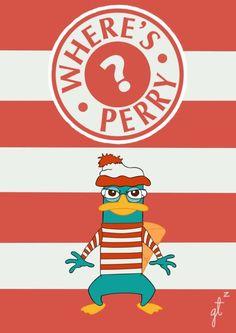 Hahaha! <3 Where's Perry?