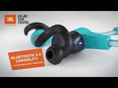 JBL Reflect BT Wireless Bluetooth Sport Headphones - YouTube