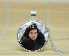 10pcs Game of Thrones. House of Stark. Jon Snow Necklace Winter Is Coming  jewelry glass Cabochon Necklace A3015  //Price: $US $9.90 & FREE Shipping //     #gameofthronesmarathon #gameofthronestour #jonsnow #starks #sansastark #gameofthronesaddict