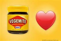 Vegamite--will never forget Lashelle's face when she tryed this.