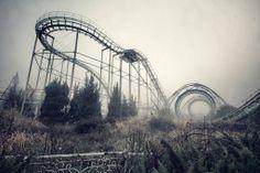 Haunted Old Abandoned Amusement Park