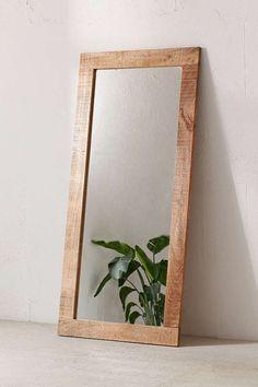 Slide View: 2: Ashton Mango Wood Mirror