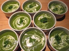 Meat Free Everyday: Spinach, pea and mint soup - vegan and almost raw