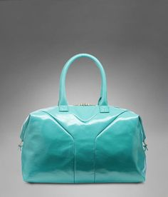 Check out Medium YSL Easy in Turquoise Patent Leather at http://www.ysl.com/en_US/product/804314801