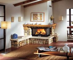 Fireplace ideas diy ideas stone ideas brick ideas white ideas with tv electric ideas corner ideas ideas tiled gas ideas rustic ideas ideas farmhouse ideas non working ideas modern ideas living room ideas makeover Classic Fireplace, Diy Fireplace, Fireplace Design, Corner Fireplace Tv Stand, Corner Electric Fireplace, Craftsman Remodel, Comfort Design, Beautiful Interior Design, Cabin Homes