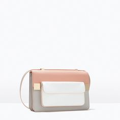 ZARA - WOMAN - COLOR BLOCK MESSENGER BAG
