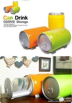 can drink storage for CD/DVDs
