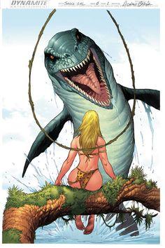 Deviation 60-Jungle girl by FrankDa.deviantart.com on @DeviantArt