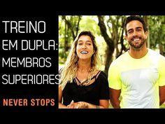 TREINO EM DUPLA PARA MEMBROS SUPERIORES - YouTube