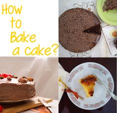 Homemade Bites: Learn how to bake a cake - First Steps