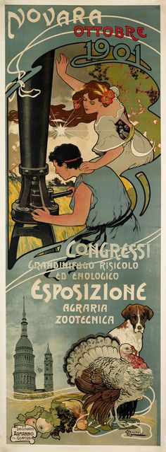 CARLO CASATOLI (DATES UNKNOWN) ESPOSIZIONE AGRARIA ZOOTECNICA. 1901.