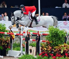Mclain Ward & Antares F.. love this horse