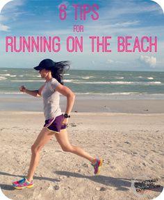 Running on the Beach Pin