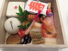 Osechi, Japanese new year dishes. At Tokyo Prince Hotel Tower.
