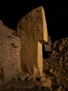 Gobekli Tepe - one of the oldest megalithic sites - older than Stonehenge.  It was carved more than 11,000 years ago  and may be one of Mankind's oldest sacred sites build above ground.