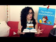 Με ποια σειρά να διαβάσω και πώς; - YouTube School Videos, Teaching, Youtube, Kids, Young Children, Boys, Children, Kid, Children's Comics
