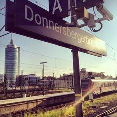 S Donnersbergerbrücke in München, Bayern