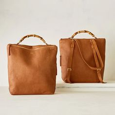 Bamboo Elisabetta Convertible Backpack #makeyourmark