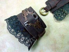 Victorian Keyed Cuffs