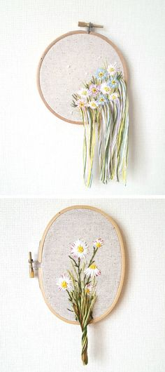 Lou Stitches Shop Hand-stitched embroidery art {sponsored} #EmbroideryArt