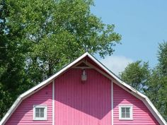 I want my very own pink barn
