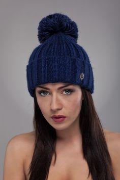 Ulter czapki - Model 22 #ulter #caps #woll #winter #inspiration #fashion