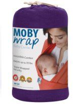 Genuine Moby Wrap Carrier Sling Majestic for sale online Best Baby Carrier, Baby Wrap Carrier, Baby Up, Baby Kids, Best Baby Sling, Taking Care Of Baby, Moby Wrap, Baby Equipment, Baby Warmer