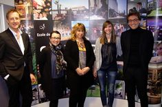 Les représentants de @ClubMedFR , @Odalys_Vacances, @Huttopia_Cie, @yellohvillage à la rencontre des savignacois!