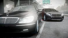 mercedes W220 & W222