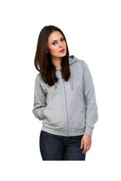 Women Cotton Blend Hooded Sweatshirt #Womensfashion #womenssweatshirts