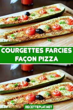 Courgette Facon Pizza, Tasty, Yummy Food, Cooking Recipes, Healthy Recipes, Food Inspiration, Entrees, Brunch, Food And Drink