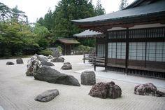 Японский сад камней: философия и устройство   Строительный портал