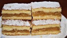 Výborný jablkový koláč Pavlova, Czech Recipes, Ethnic Recipes, New Cake, Apple Pie, Vanilla Cake, Tiramisu, Ham, Nom Nom