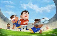Illustration/Game Art  http://kopanitosoccer.com/