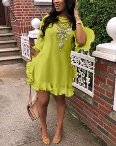 Look Fashion, Fashion Outfits, Night Outfits, Dress Fashion, Fashion Ideas, Bohemian Summer Dresses, Ladies Day Dresses, Perfect Prom Dress, Daily Dress