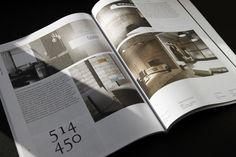 Maison Corbeil / Annual catalog 2014 by Paprika , via Behance
