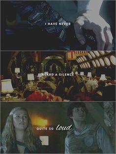 The 100 - Bellamy and Clarke (Lyrics from: 'Something gotta give' by Camila Cabello)