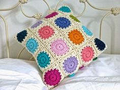 "@ Mrs Thomasina Tittlemouse: ""Smarties"" Cushion"