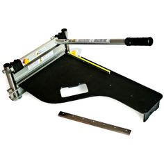 Bautec Laminate Flooring Cutter Planks Wood Floor Cutter Guillotine 325mm