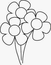 Dibujos de Flores para Colorear, parte 4 Sunday School Coloring Pages, Adult Coloring Book Pages, Coloring Books, Stencil Patterns, Applique Patterns, Print Patterns, Doodle Drawings, Easy Drawings, Animal Drawings